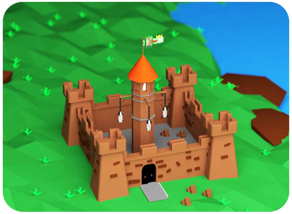 ساخت قلعه در Cinema4d ( بخش اول )