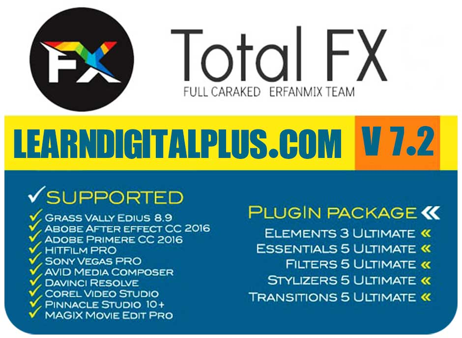 پلاگین ادیوس NewBlue TotalFX