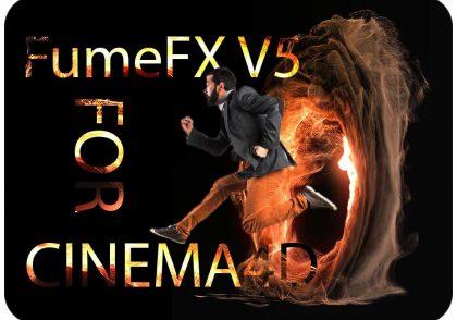 پلاگین fumefx V5 برای Cinema4D