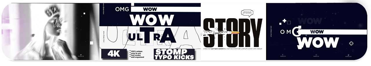 stomp typo kicks