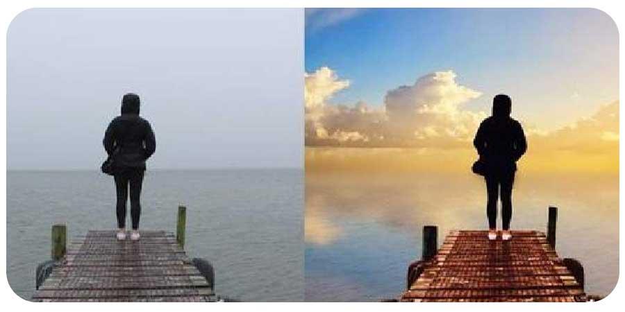تغییر آسمان