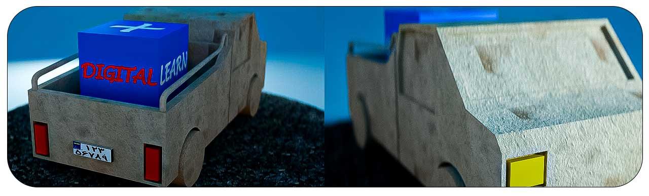 مدل سازی ماشین LowPolay