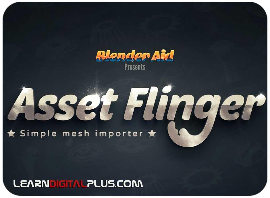 پلاگین کاربردی Asset Flinger
