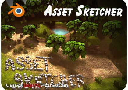 پلاگین Asset Sketcher