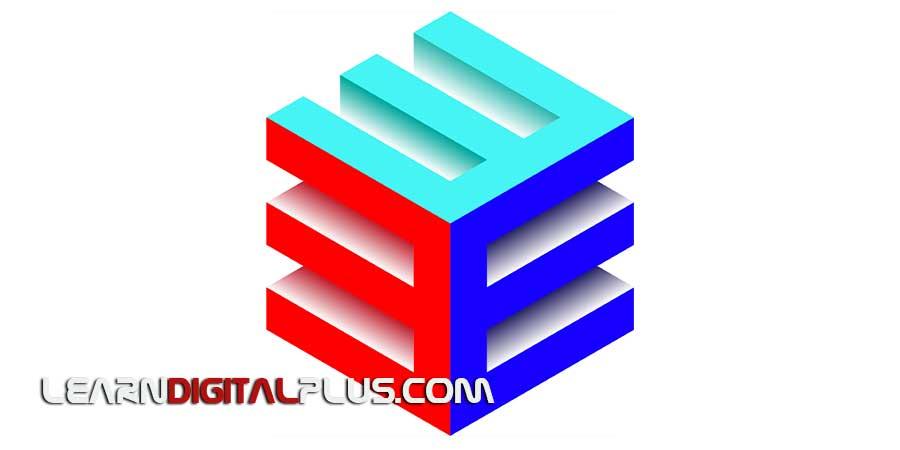 ساخت مکعب سه بعدی