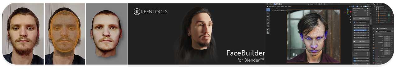 پلاگین FaceBuilder