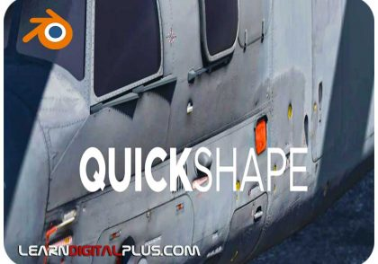 پلاگین Quick Shape