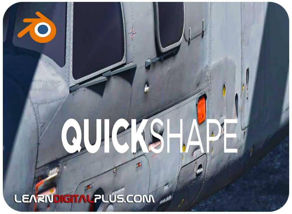 پلاگین Quick Shape
