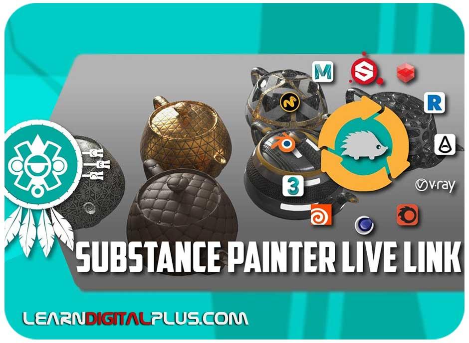 پلاگین Substance Painter Live Link