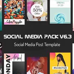 بسته بزرگ Social Media Pack