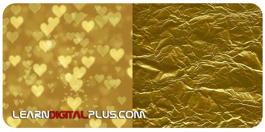 تکسچر های طلایی