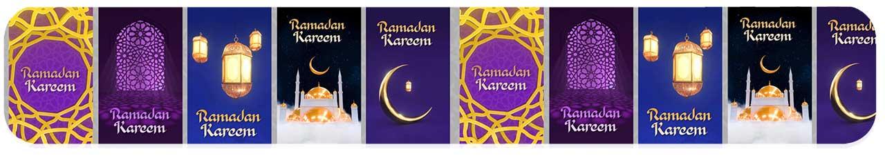 استوری موشن گرافیک ماه رمضان