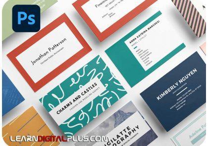business کارت ویزیت ( چهار رنگ )card
