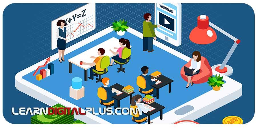 آبجکت فلت آموزش آنلاین
