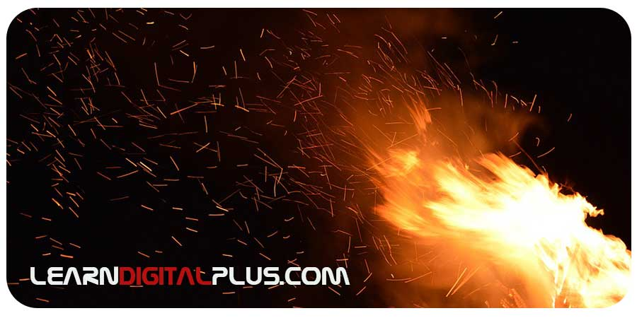 جرقه و آتش ( تصاویر پوششی )