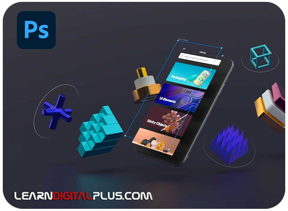 موکاپ موبایل و اجسام سهبعدی