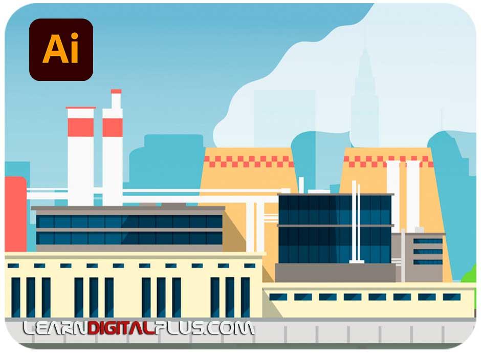 فلت ساختمان و کارخانه