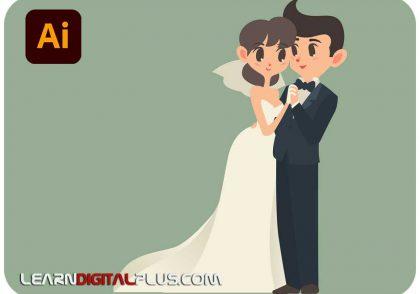 کاراکتر عروس و داماد