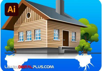 وکتور خانه سهبعدی