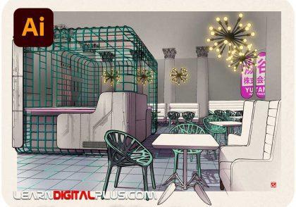 تصویرسازی فضای داخلی