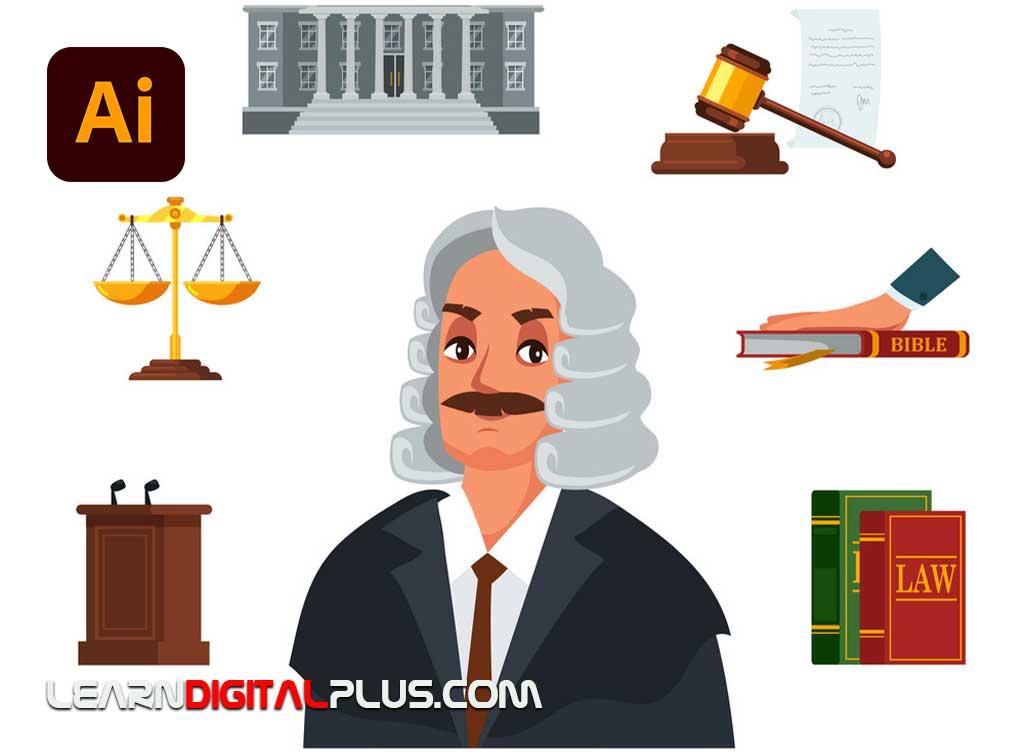 کاراکتر فلت قاضی