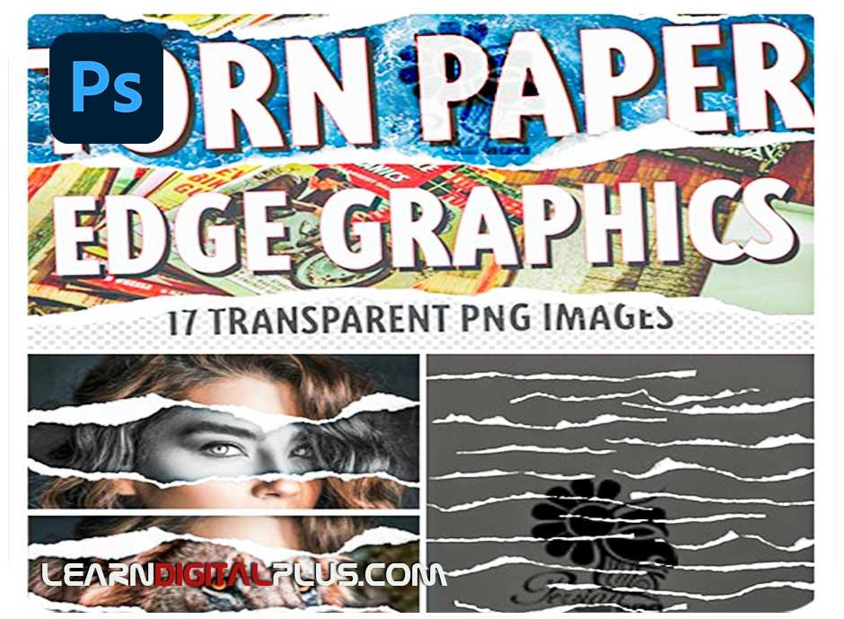 تصویر پوششی کاغذ پاره