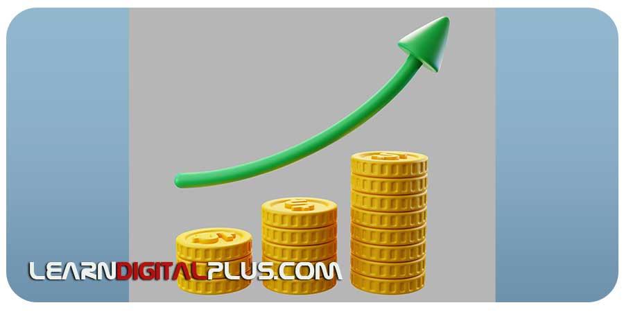 سکه و نمودار رشد