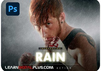 اکشن روز بارانی