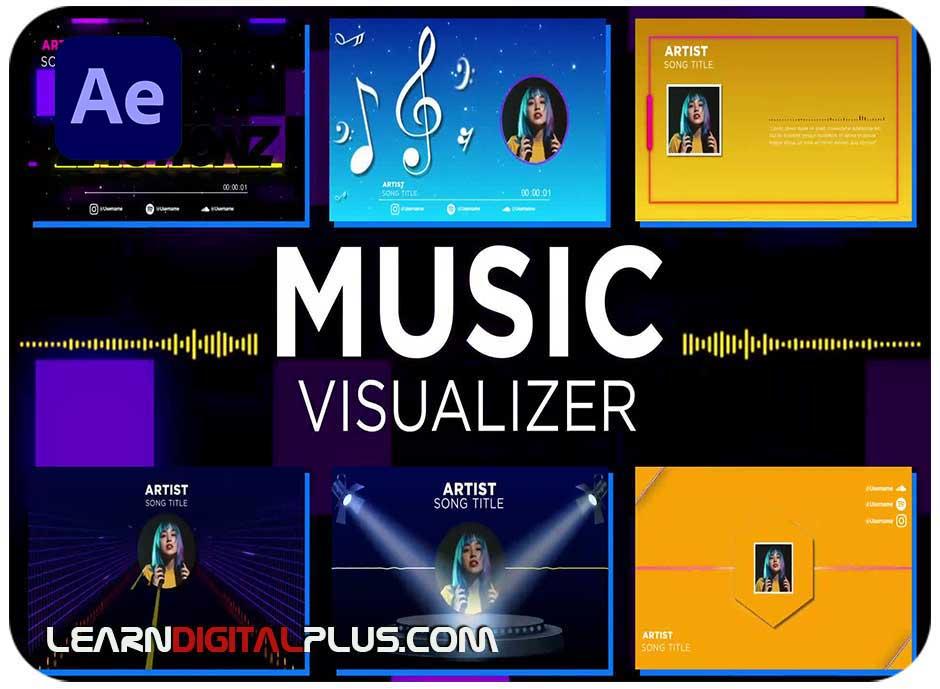 پروژه ویژوالایزر موسیقی
