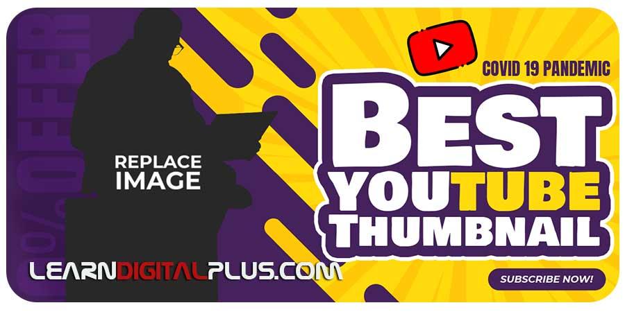 Youtube Thumbnail Template